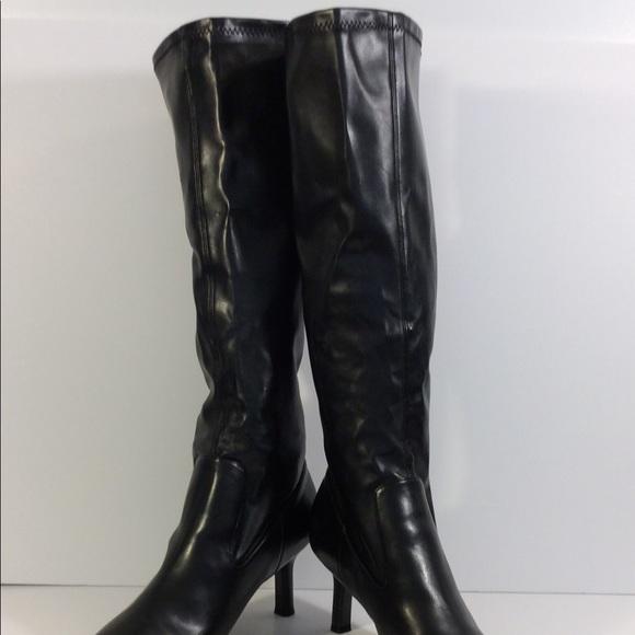 Tenna Womens Boot Size 11 Black Tall